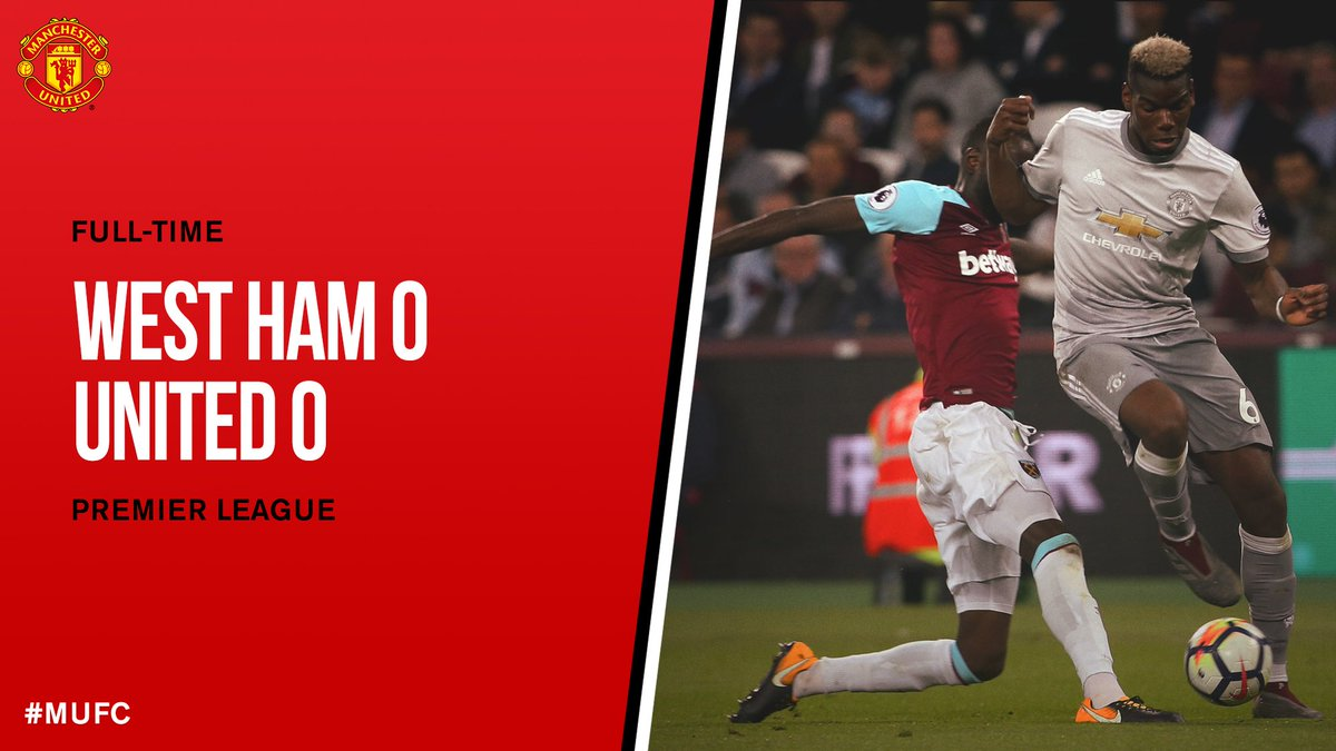 Chấm điểm: West Ham 0-0 Manchester United