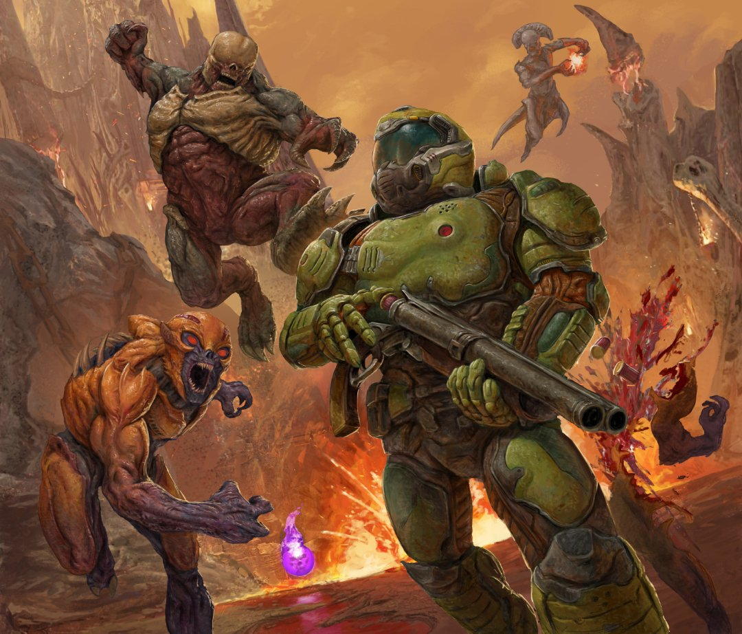 Doomguy On Twitter Now That S Something I Want To Call Art