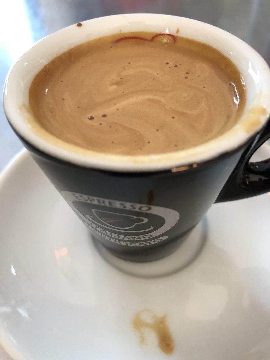 Espresso Recklinghausen caffè hashtag on