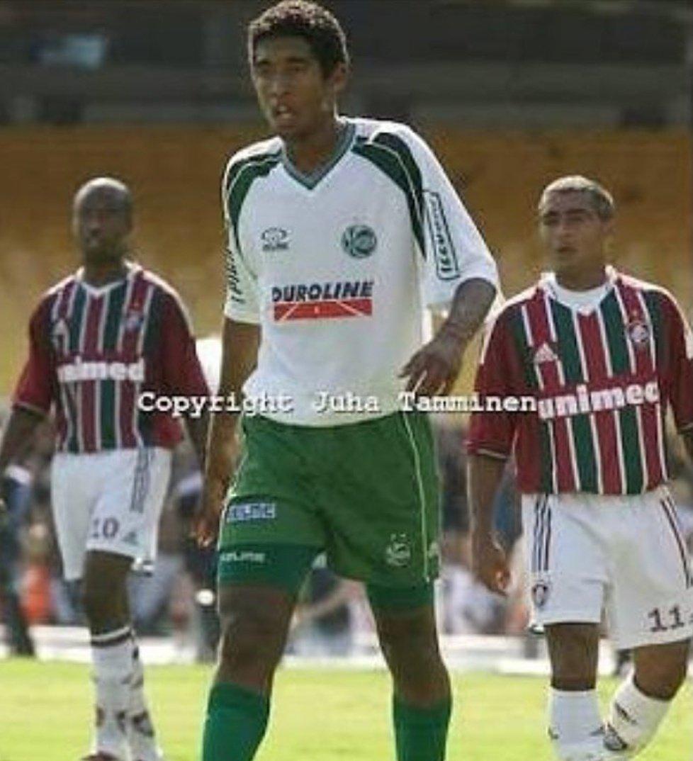 #tbtEu com 18 anos enfrentando o craque @RomarioOnze no Maraca 😱😜🙏🏽🙌🏽😍 @ECJuventude x @FluminenseFC