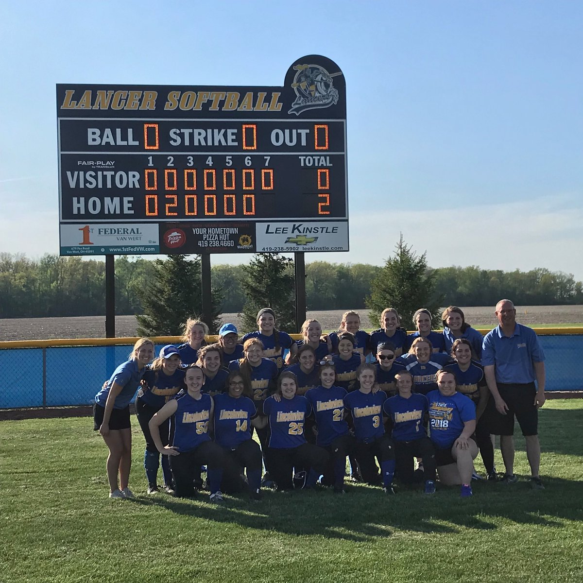 Lincolnview Lancers On Twitter Lady Lancers Are Sectional Champs