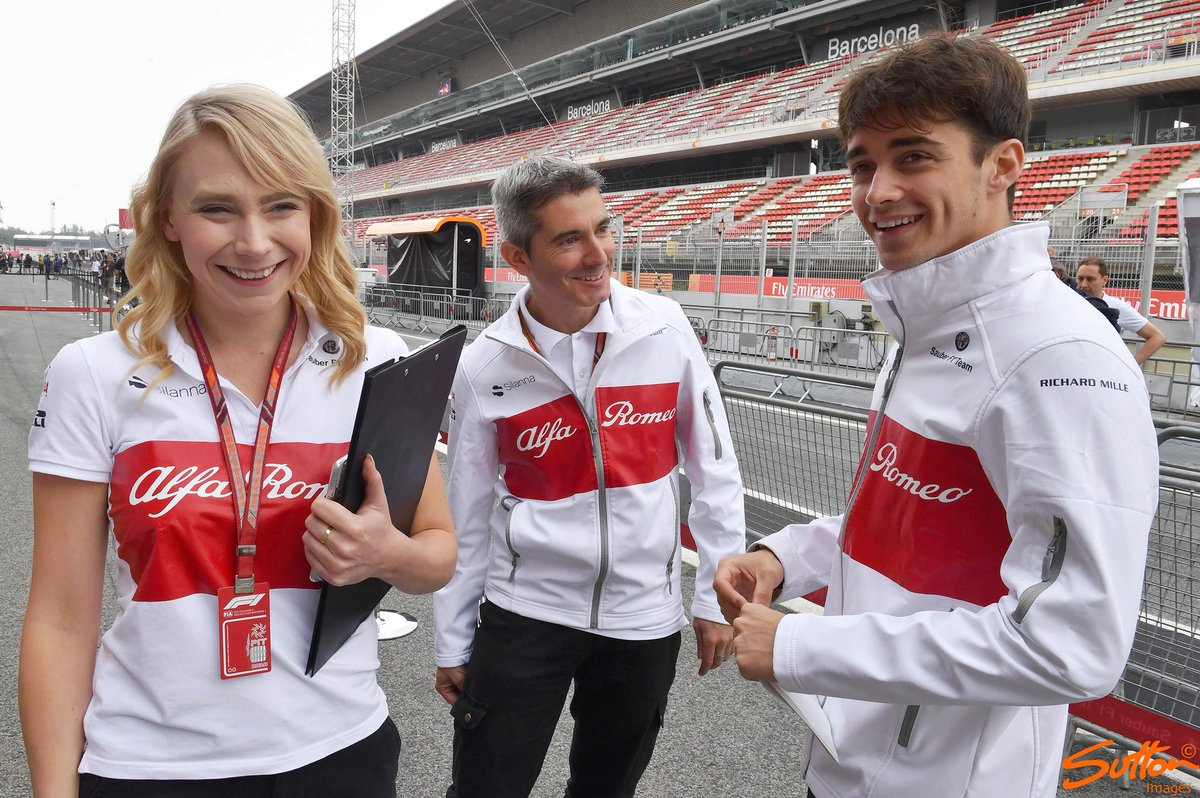 Mark Sutton On Twitter Busy Day For The Alfa Romeo Sauber F1 Team Drivers At The Spanish Grand Prix F1 Alfaromeosauberf1team Sauberf1team Marcusericsson Charlesleclerc Https T Co 2l4nitkitg