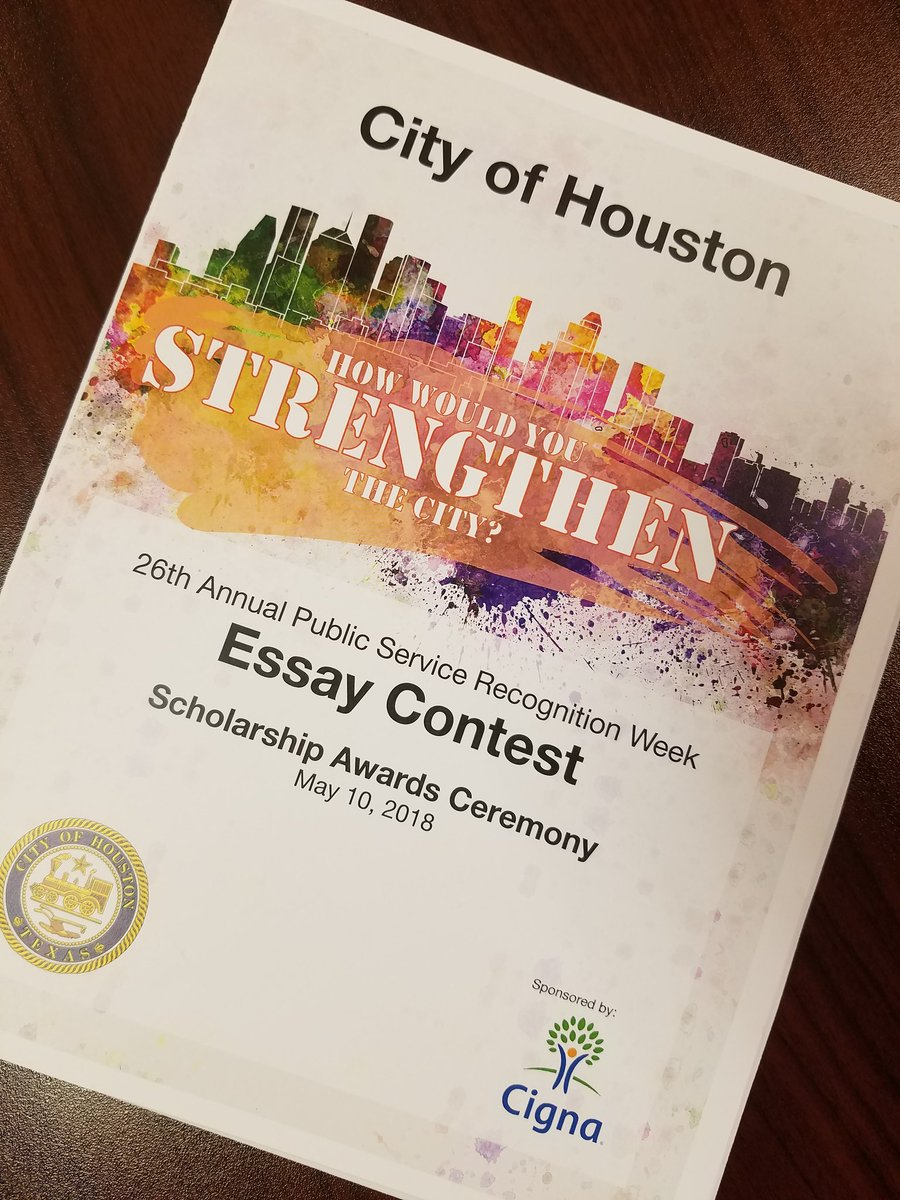city of houston psrw essay contest