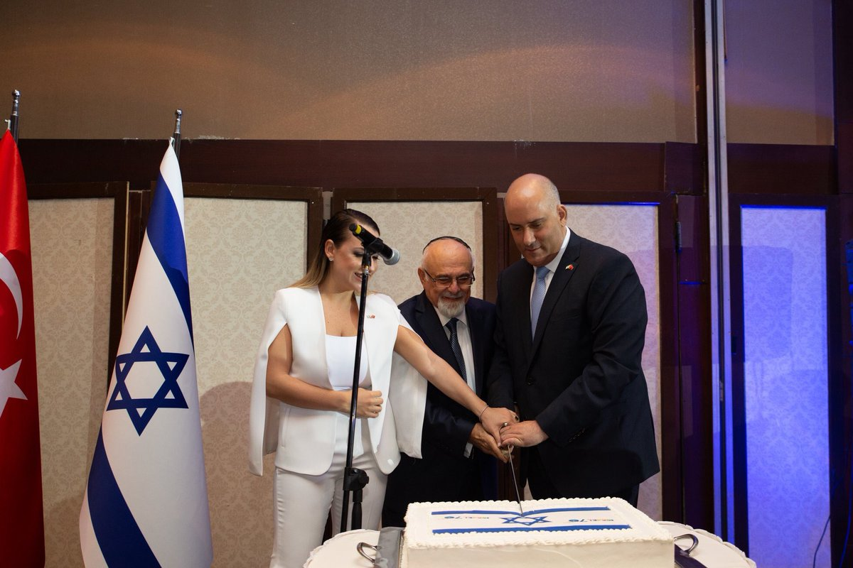 Image result for ISRAEL Embassy in Turkey holds Independence Celebration