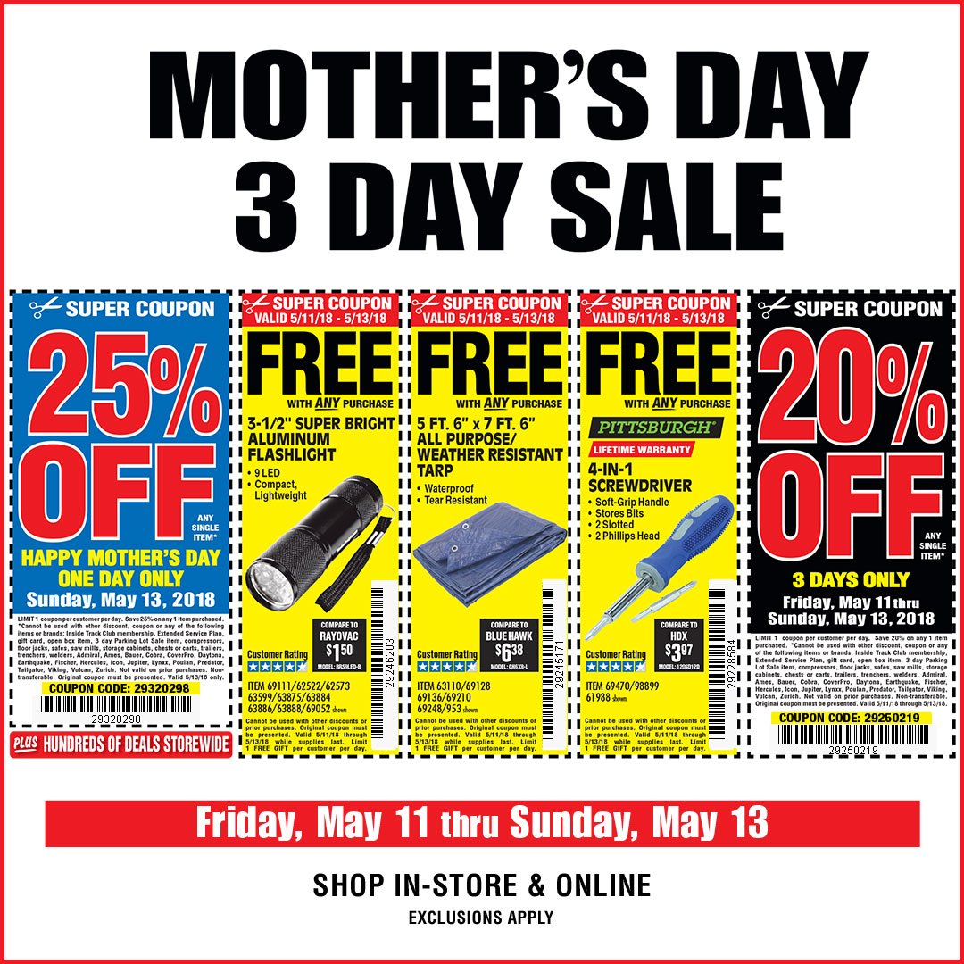 Harbor Freight Tools on Twitter: