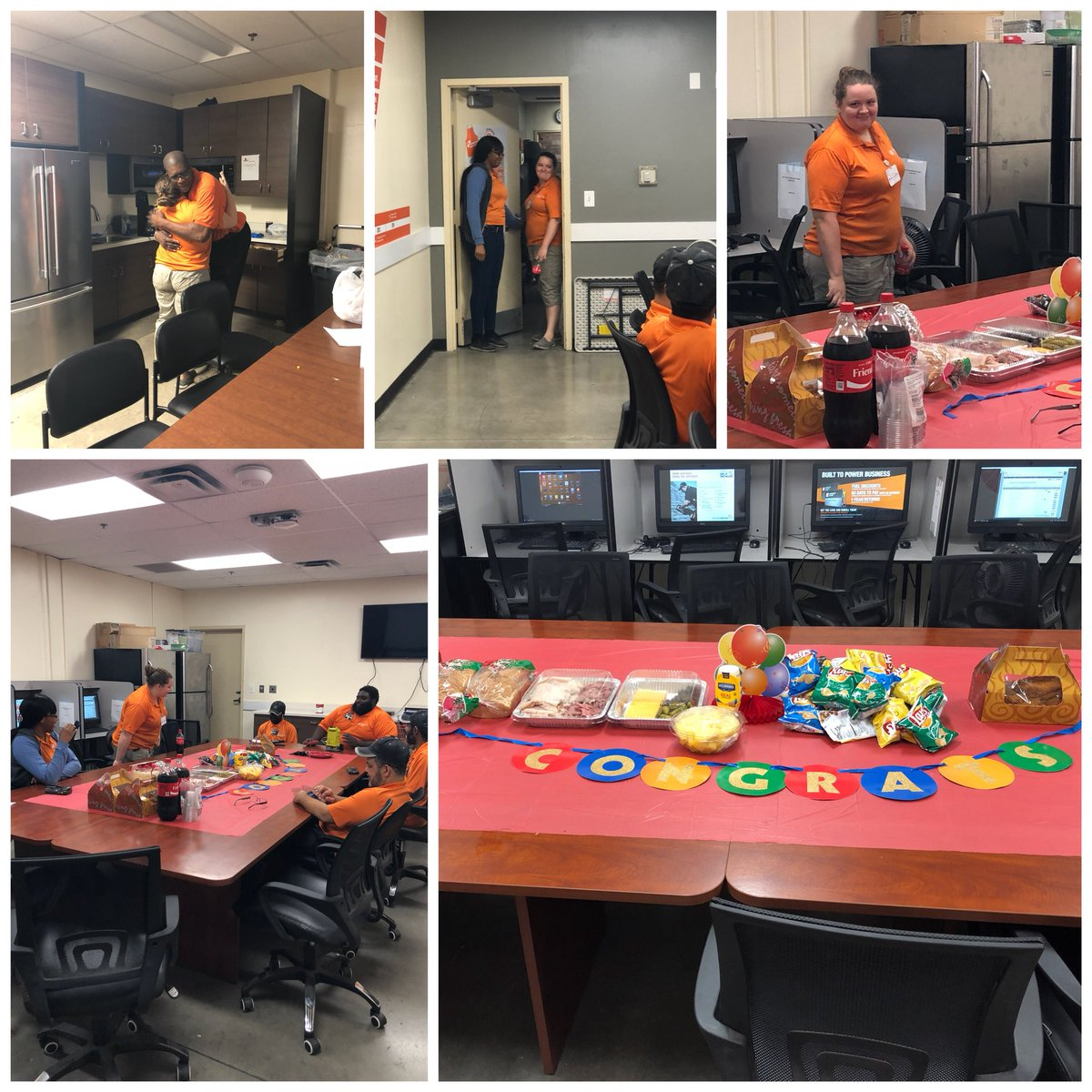 Congratulations Brooke on your promotion to MET supervisor, team Biscayne will miss you! Looking forward in watching your continued growth!