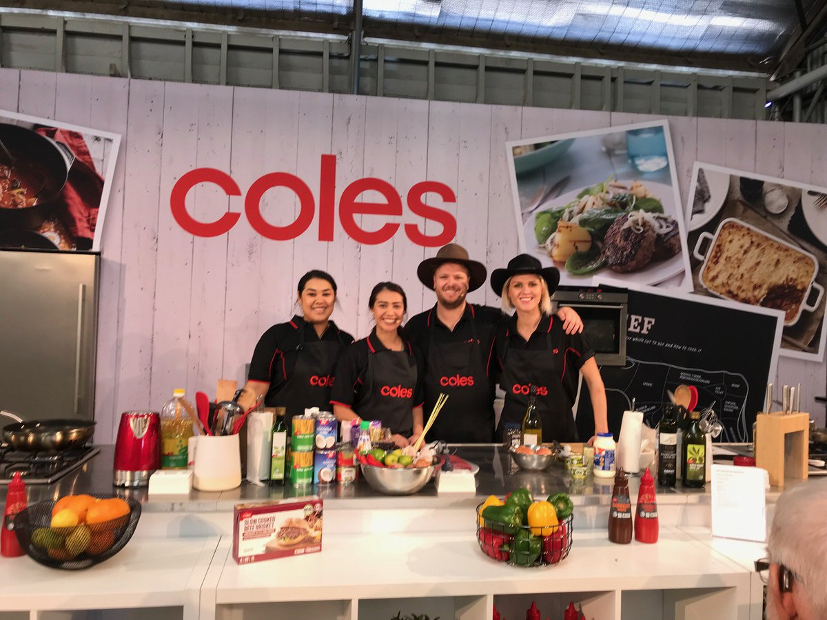 The challenge is on! Head to the Walter Pearce Pavilion to watch the cooks battle it out! Featuring Coles Beef Whole Eye Fillet. #BeefWeek #BeefAus2018 #BA2018