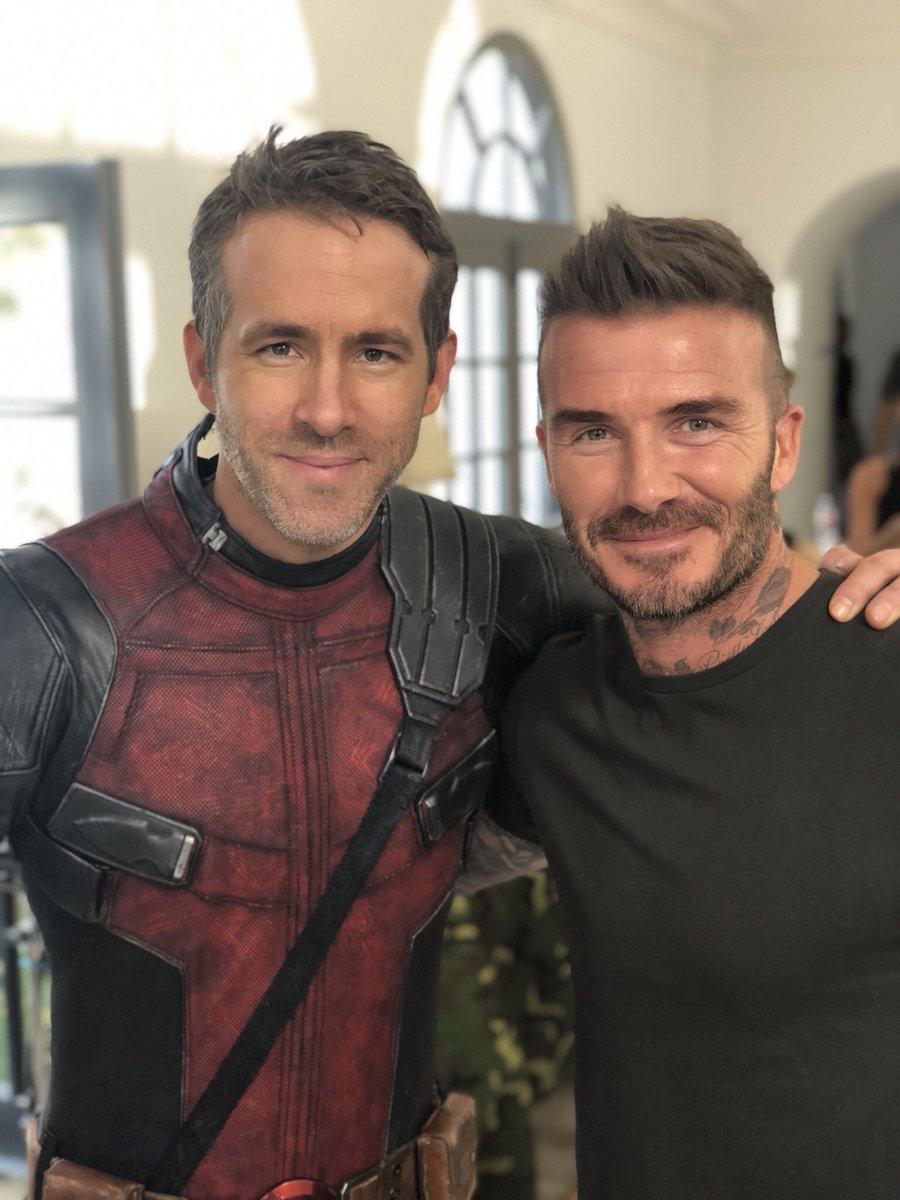 David Beckham Ryan Reynolds Are This Weeks Best Dressed Men