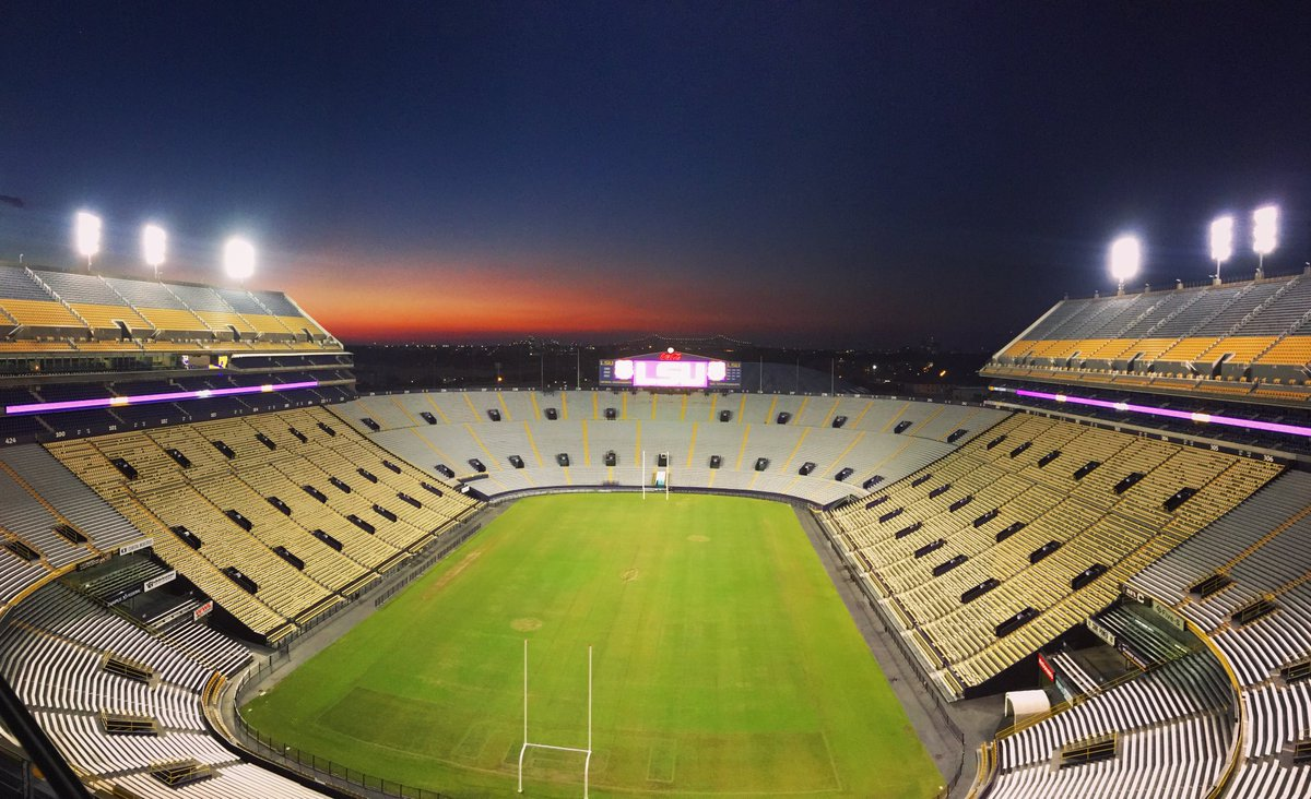 The Baton Rouge sky over Death Valley...