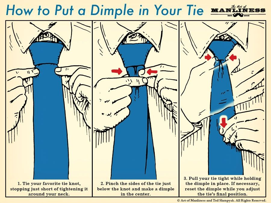 how to tie a tie art of manliness