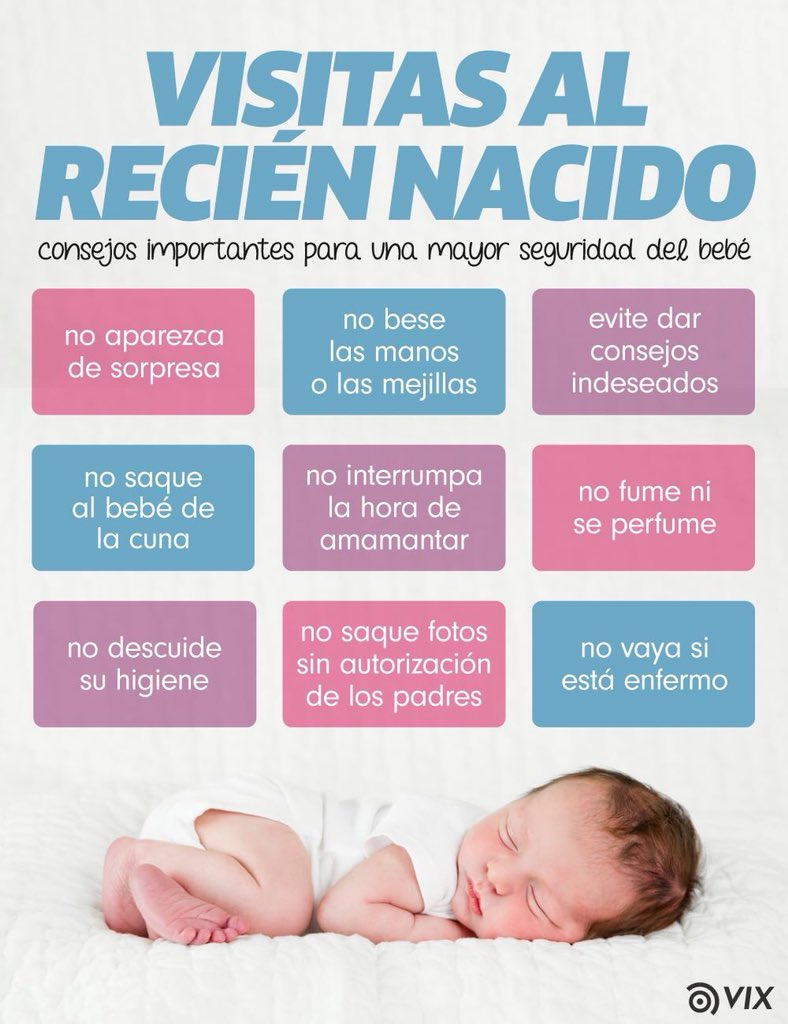 Resultado de imagen para visitas a recien nacido