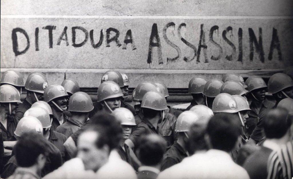Hoje caiu não só o mito do 'Geisel estadista', mas, definitivamente, o do caráter 'nacional' da Ditadura Militar: tivemos mais uma ocupação militar terceirizada do que um regime militar. Não à toa, os melhores dados sobre nossa ditadura são os arquivos da CIA. (Hugo Albuquerque)