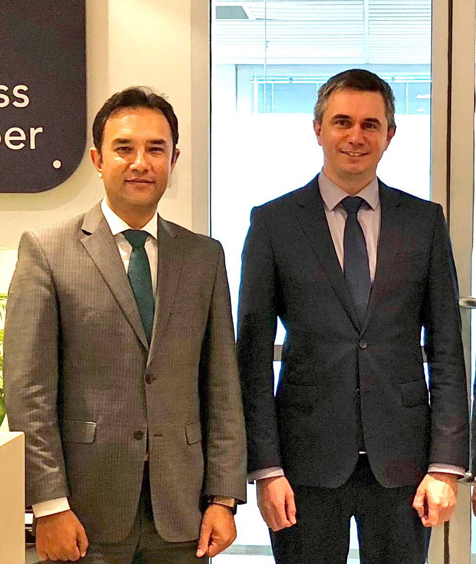 Had a productive discussion with the NSW Business Chamber @NSWBC in #Sydney. Looking for greater collaboration on business and trade between Afghanistan and Australia 🇦🇫🤝🇦🇺