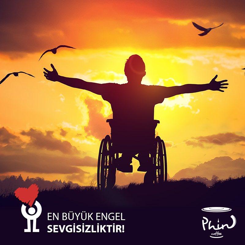 Engelleri kaldır! 10-16 Mayıs Engelliler Haftası #Phincoffee #Coffee #BenimCevahirim #İstanbul