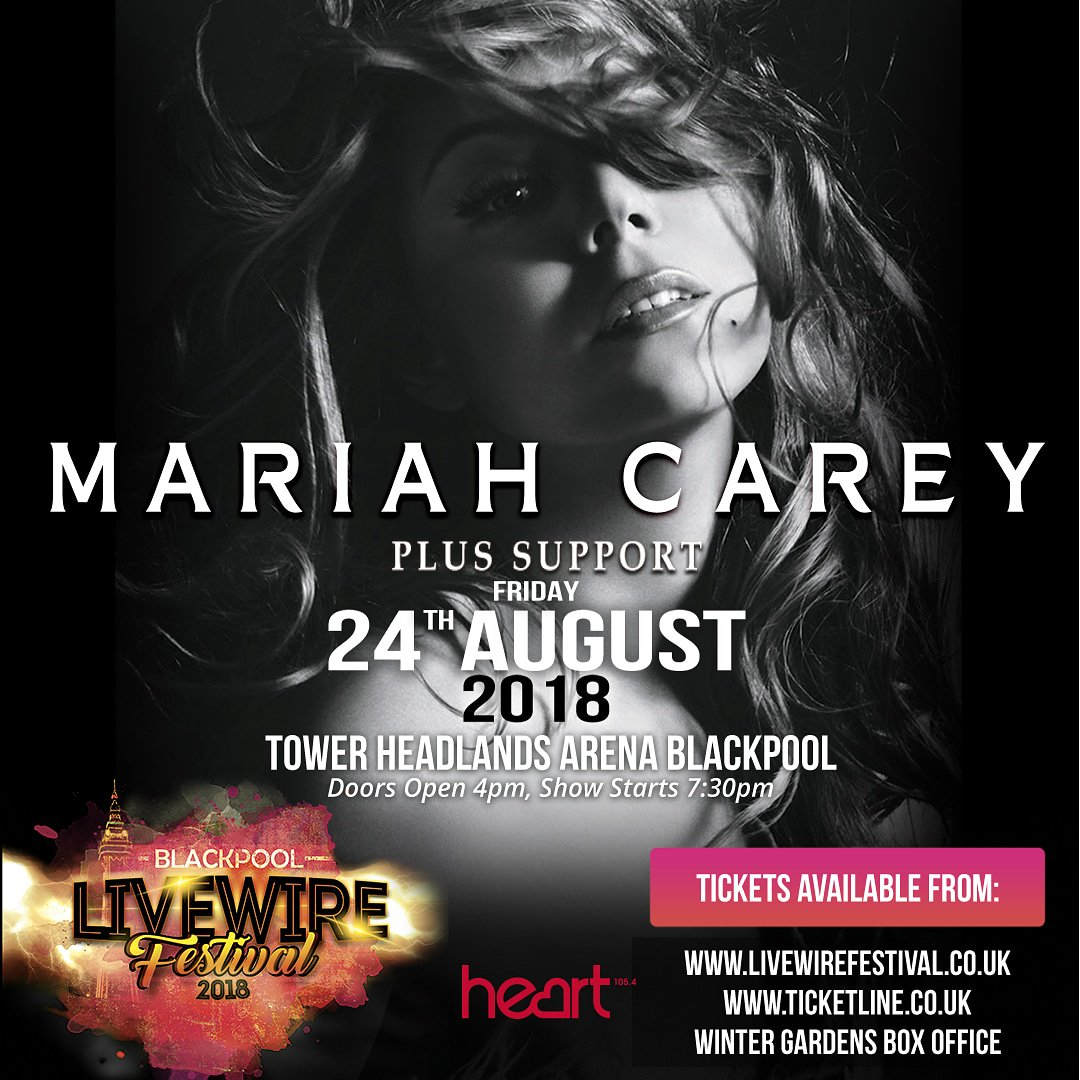 Excited to headline #Blackpools @Livewire_Fest 2018 on Friday, August 24th! Tickets are on sale NOW! 🎙️🇬🇧  2018 on Friday 24th August! bit.ly/TLLivewire18