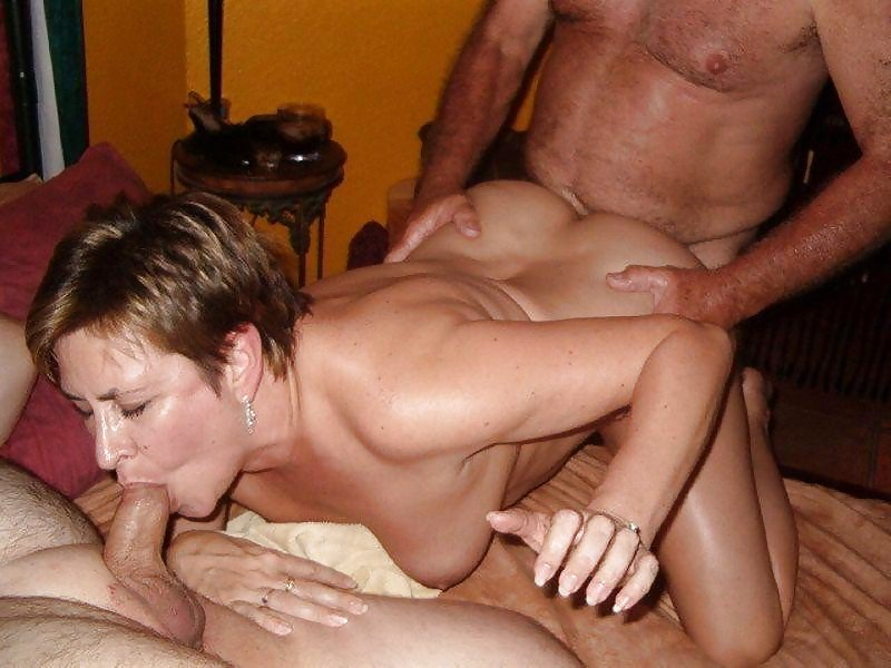 Farrell sucks hot wives threesome swing porn