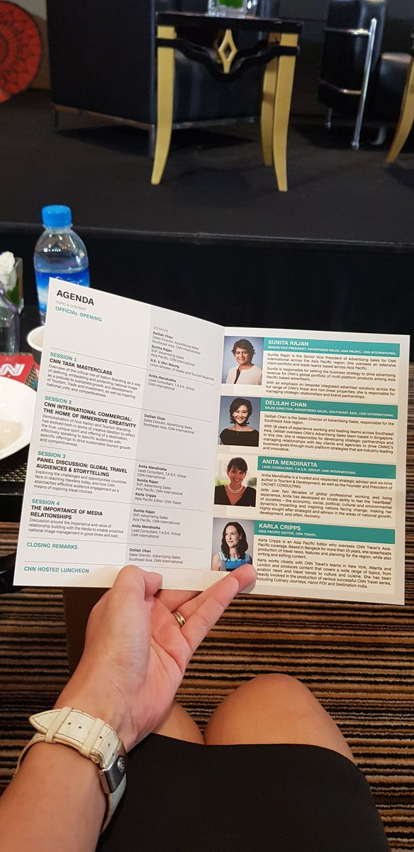 Delilahchan On Twitter At The Cnn And Cnn Task Masterclass In