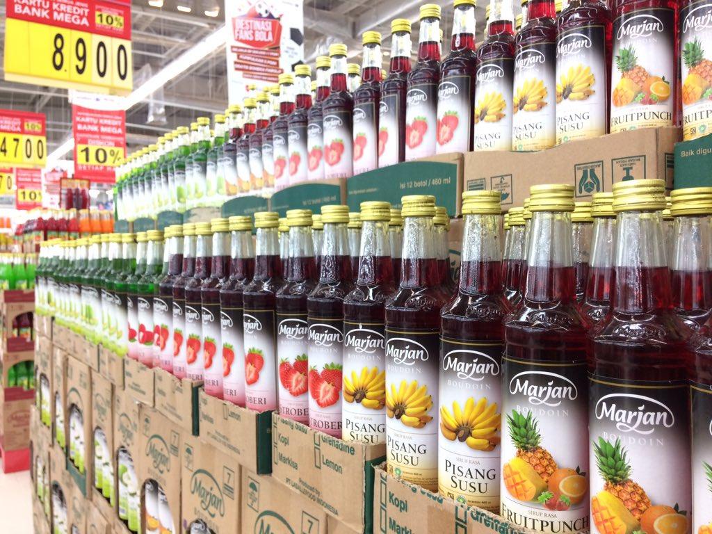 Transmart Carrefour On Twitter Ramadan Akan Tiba Kurang Dr Marjan Syrup Kini Waktunya Siapkan Stok Sirup Dan Set Punch Agar Menu Berbuka Anda Terlihat Makin Menggoda Dapatkan Semua Di