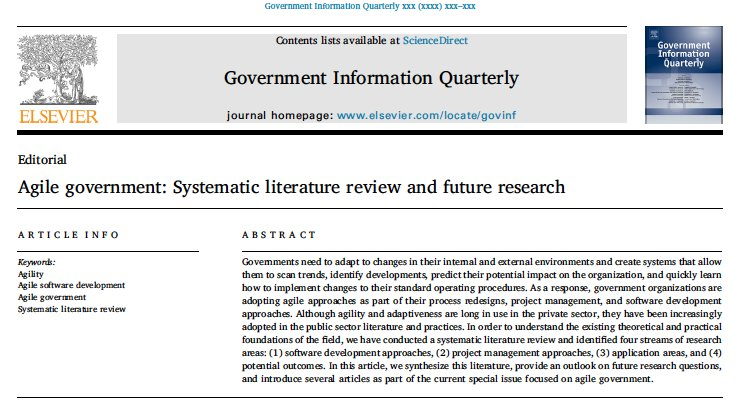 getting good government for women a literature review