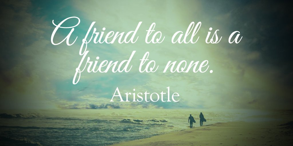 Tim Fargo On Twitter A Friend To All Is A Friend To None