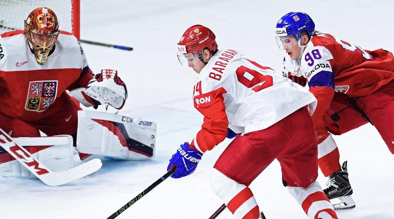 спорт россия чехия хоккей счет статус, который