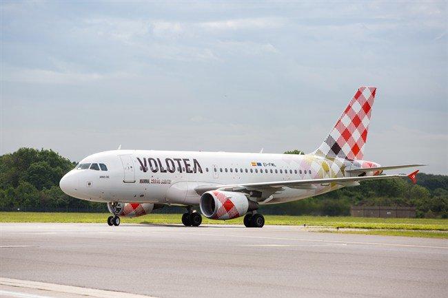 Αποτέλεσμα εικόνας για VOLOTEA JOINS IATA