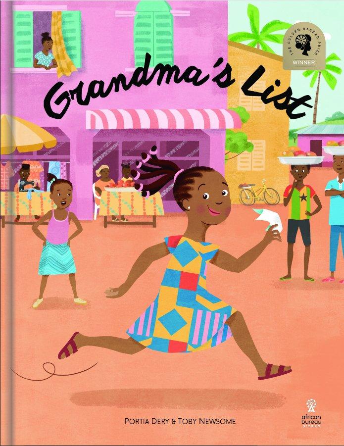 Winner of @GoldenBaobab prize Portia Dery's Grandma's List was published by Deborah Osei-Agyekumthe @afbureaustories has just won the 2018 internationally coveted Children's Africana Book Award (CABA)  https://www. modernghana.com/lifestyle/1172 9/ghanaian-author-wins-international-literary-award-with-debut.html  …  HUGE congrats to Deborah<br>http://pic.twitter.com/NmdzuYby1e