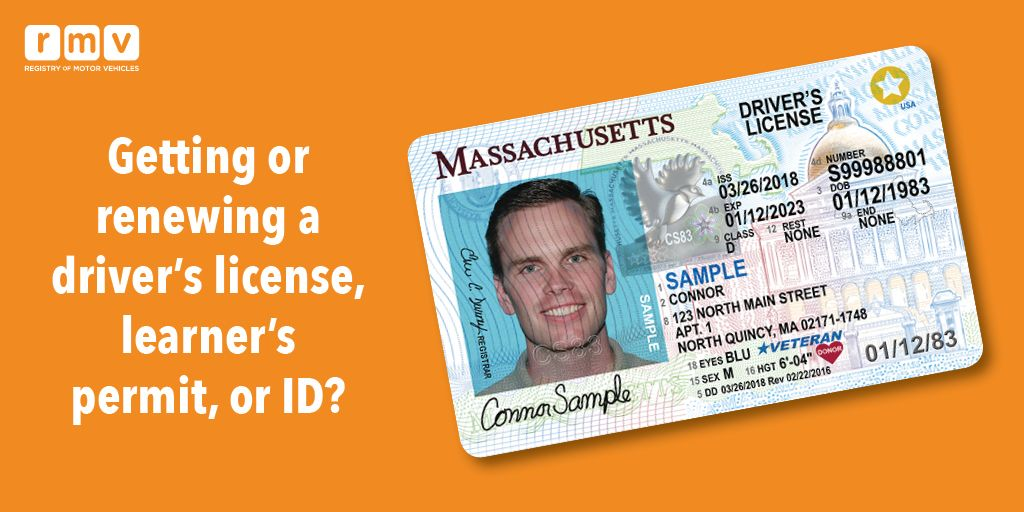 "massachusetts rmv on twitter: ""don't need a real id right now? then"