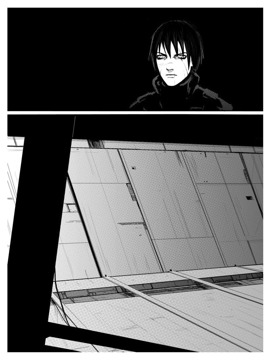 BLAME!の続編 (漫画版) #2 「Made two new pages! The whole first part
