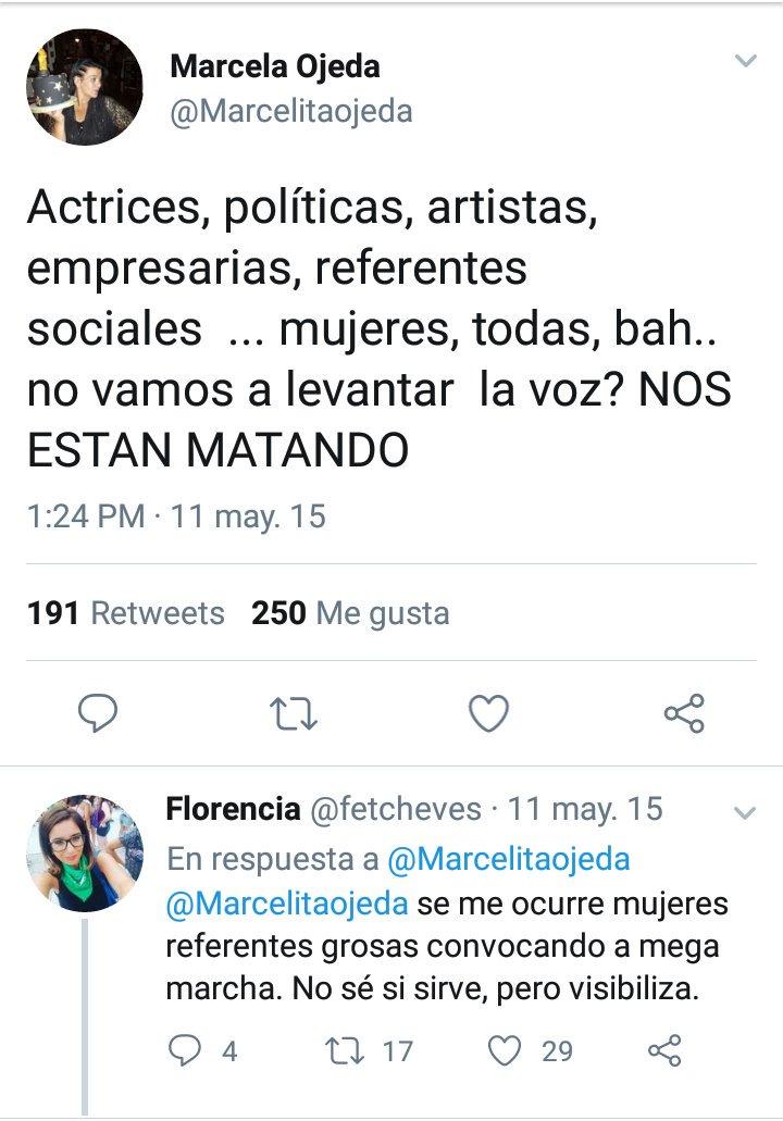 Resultado de imagen de twitter marcela ojeda