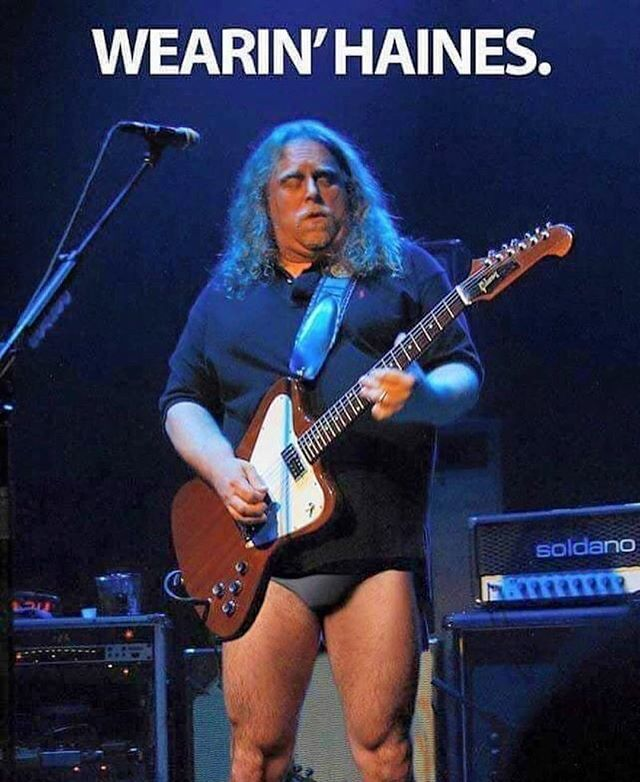 Mark Agnesi on Twitter: My sincere apologies to #WarrenHaynes for ...