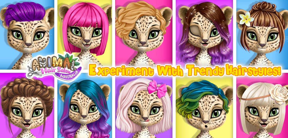 Tutoplay On Twitter Kids Favorite Game Animal Hair Salon
