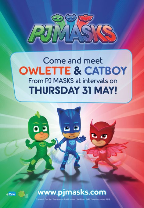 HALF TERM FUN AT THE FARM! 26 MAY – 3 JUNE. Rides, inflatables, face-painting and more! On 31 MAY, come and meet CATBOY and OWLETTE from PJ MASKS at intervals during the day! https://t.co/O4SngYhdR3 @PJMasksUK @dowtkids @KM_newsroom @Kent_Online @KSCourie