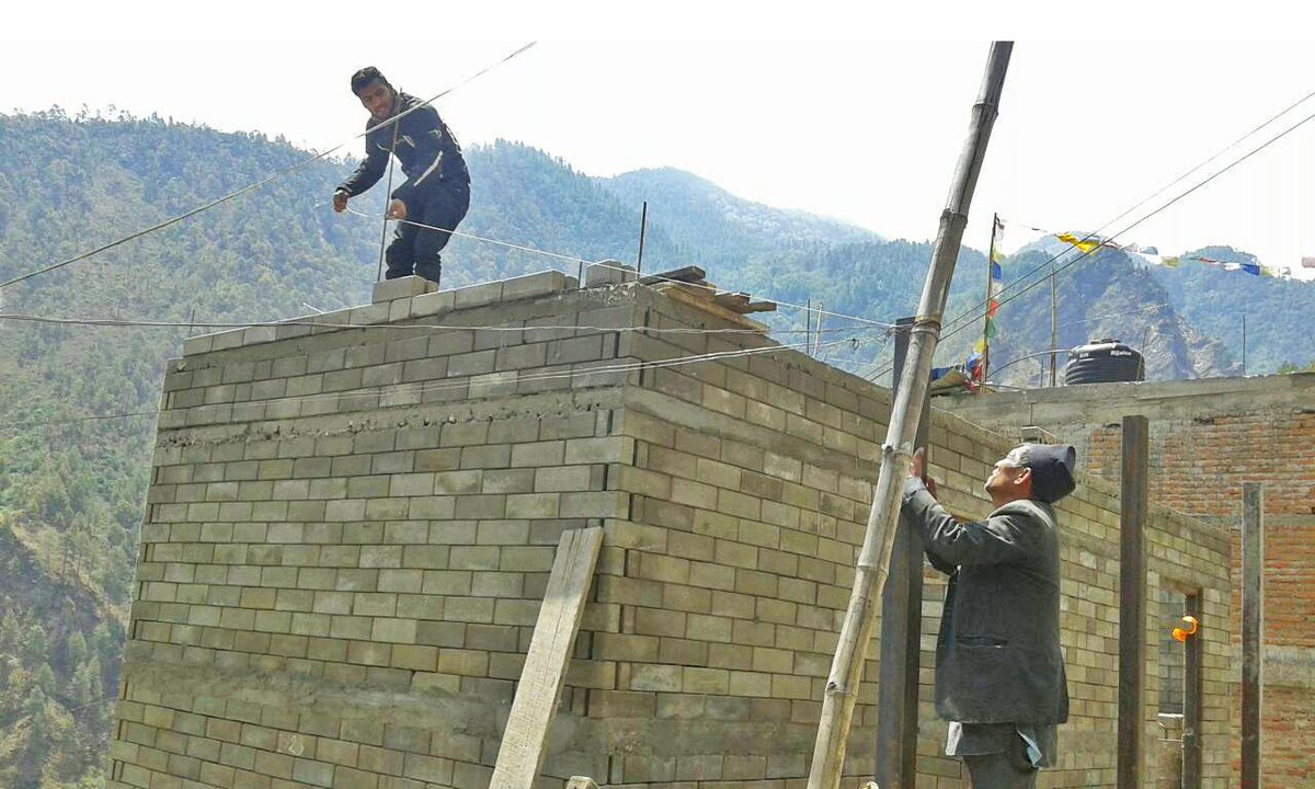 Build Up Nepal A Twitter Our 15th Model House With