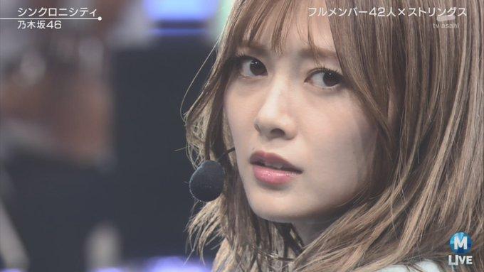Mステ】乃木坂46フルメンバーで登場! まいやん前髪かわいい♡と
