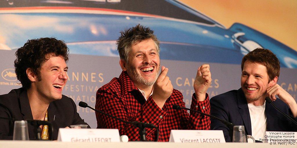 Vincent Lacoste, Christophe Honoré et Pierre Deladonchamps