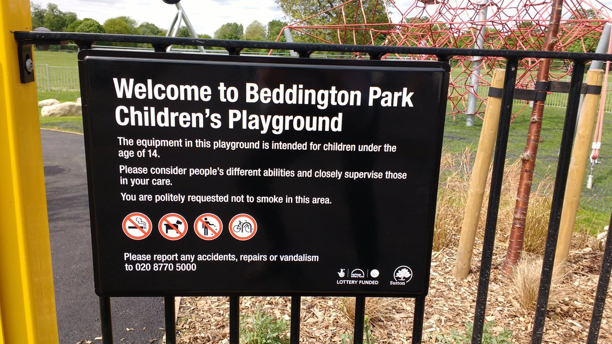 Beddington Park On Twitter It S Official The Playground Will Be Open By 4pm This Monday See You All After School