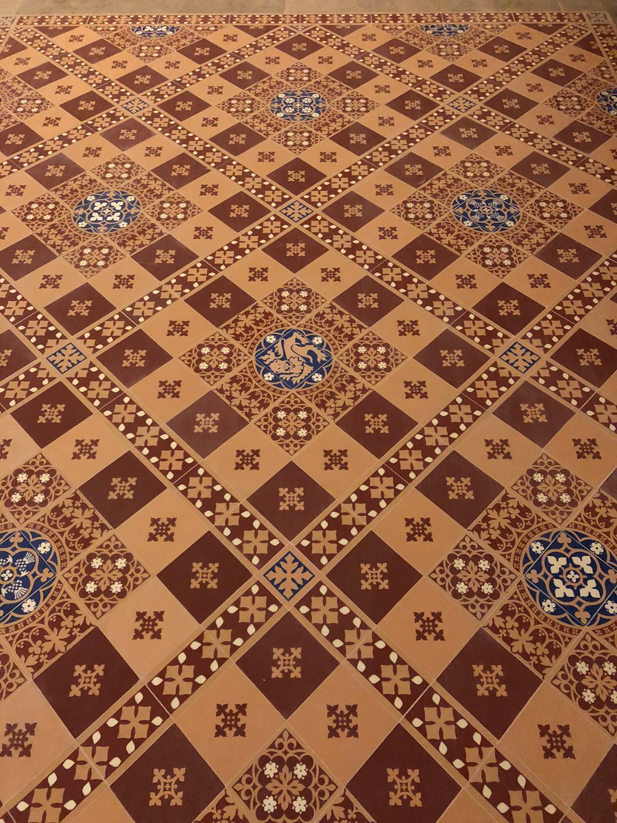 Dbr Limited On Twitter Another Section Of Encaustic Floor Tiles