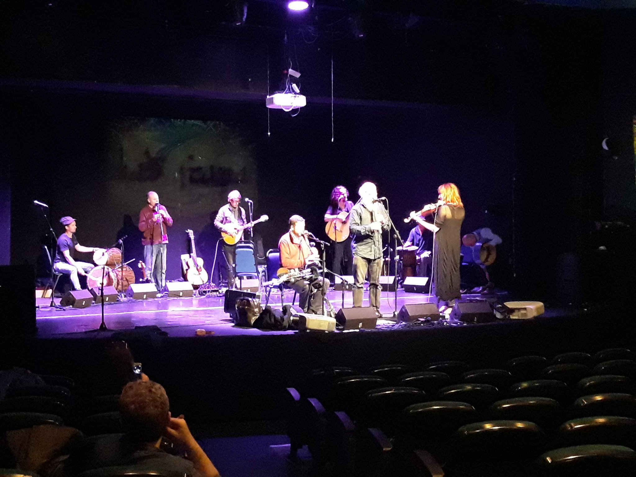 @KilaRecords soundchecking for #Sendiana @ipsc48 @PalFestIreland tonight at 8pm Liberty Hall. ���� https://t.co/I9JC9EeiL9