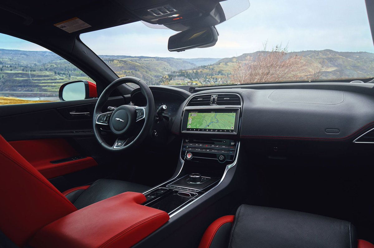 Interior design. #XE Blending the finest materials with exquisite comfort and technology, the Jaguar XE is a theater for the senses. Photo by: Webb Bland https://t.co/1Cgn1a9wK6