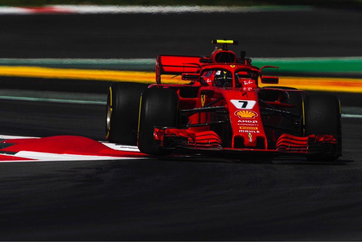 Ferrari changes the engine in Kimi Räikkönen's car