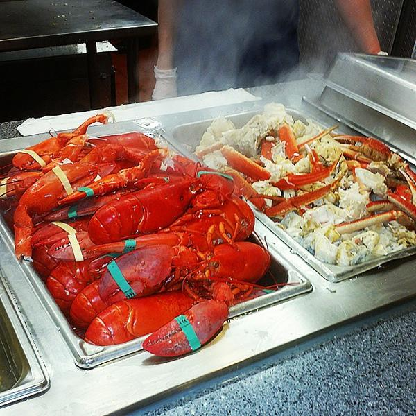 Awe Inspiring Hanscom Fss On Twitter Lobstah Buffet Yumm At The Nordic Interior Design Ideas Clesiryabchikinfo