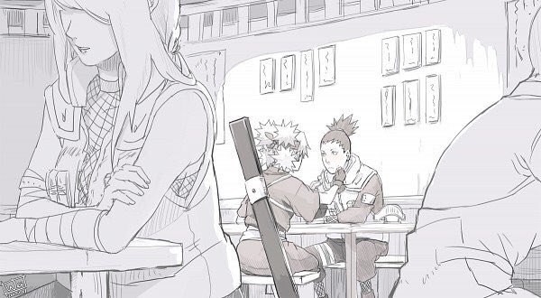 Shikamaru and Temari 😍🌸