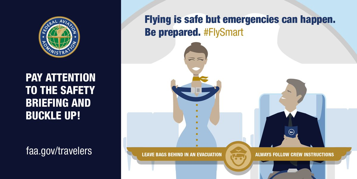 Keep calm, #flysafe and travel on. Happy National Travel & Tourism Week! #nttw18