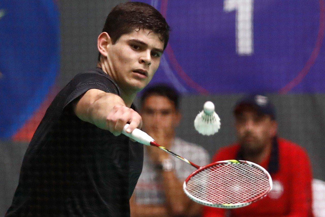 Resultado de imagen para alonso medel badminton