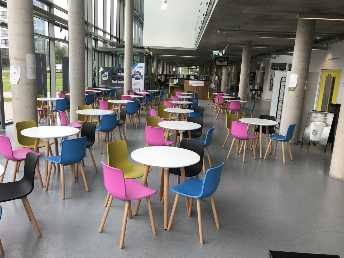 Chariot Office On Twitter Adding A Bit Of Colour To The Dining Area Replacing Grey Bench Seating Please Contact Supplies Add Some