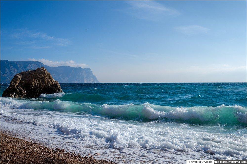 подходящий фото пейзажей крыма с моря легкая, прозрачная