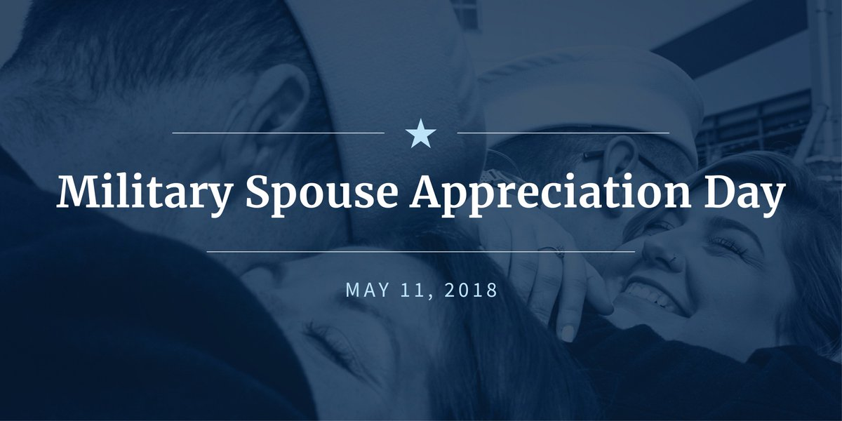 Military spouses are the foundation of our Nations military families and today we honor their countless sacrifices and tireless devotion to this country. #MilitarySpouseAppreciationDay 45.wh.gov/NnfoBd