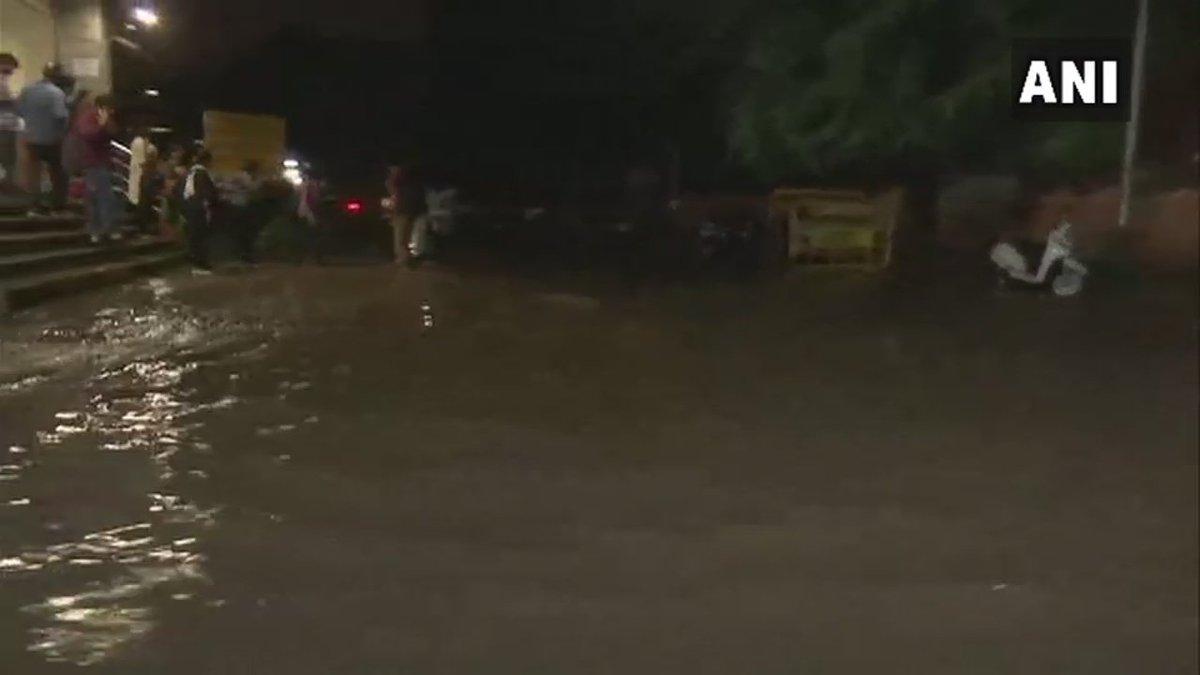 #Visuals from Bengaluru following rainfall in the district #Karnataka