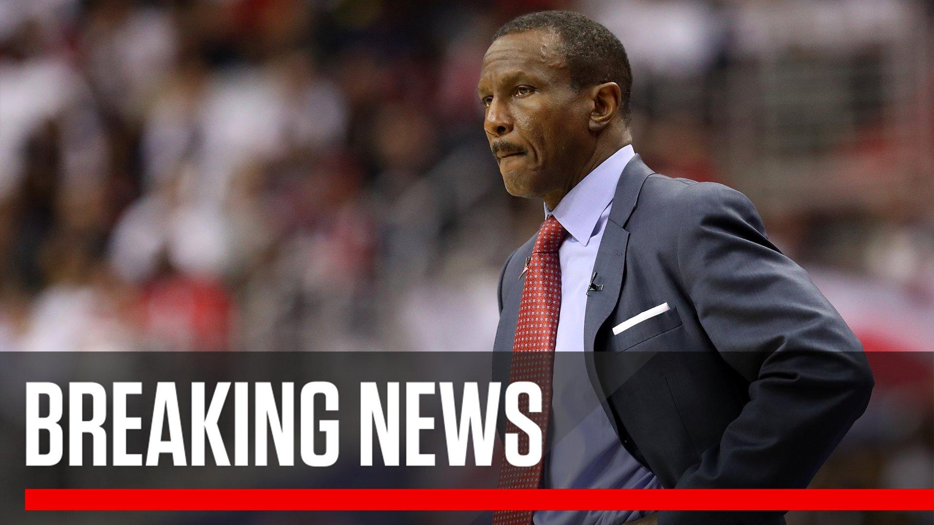 Breaking: The Toronto Raptors have fired coach Dwane Casey, a league source tells @wojespn. https://t.co/ox2eferHIn